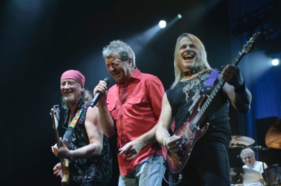 Deep Purple: Roger Glover, Ian Gillan, Steve Morse, Ian Paice | photo: Michael Currin
