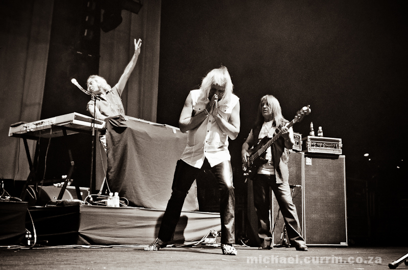 Uriah Heep at GrandWest, 1 June 2010 | photo: Michael Currin